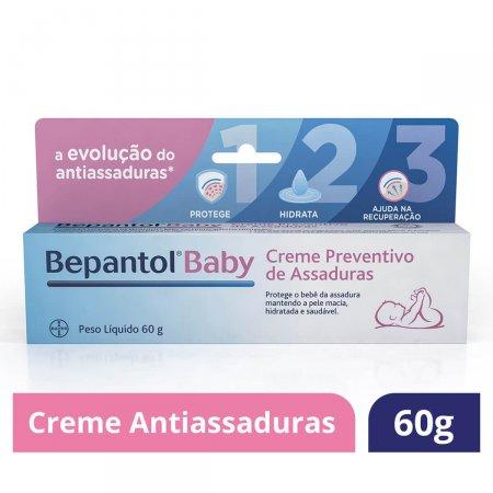 Creme Preventivo de Assaduras Bepantol Baby 60g Foto 2