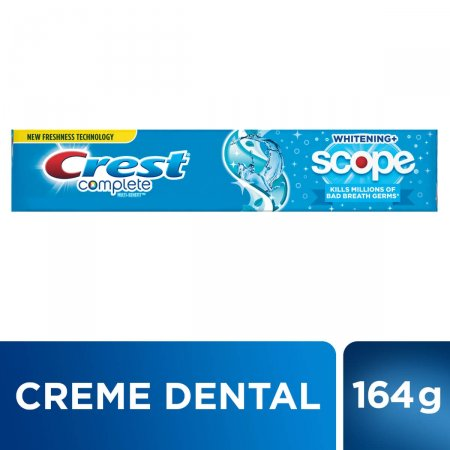 Creme Dental Crest Complete Cool Peppermint