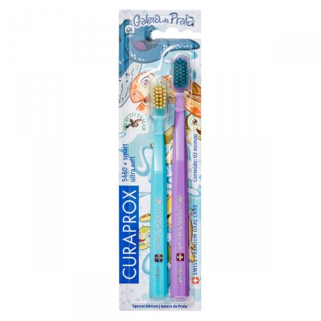 Kit Escova Dental Curaprox 5460 + Escova Dental Smart