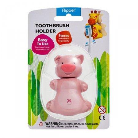 Suporte Para Escova Dental Curaprox Formato de Porco