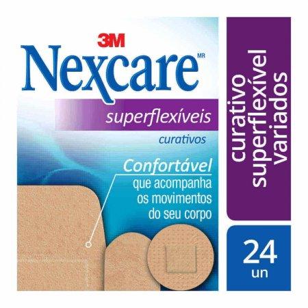 Curativo Nexcare Superflexíveis Variados