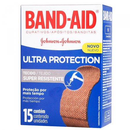 Curativos Band-Aid Ultra Protection