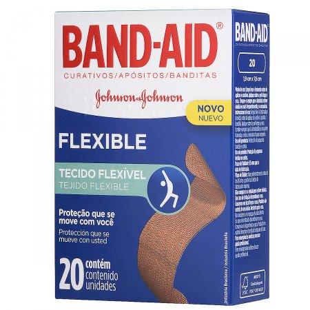 Curativos Band-Aid Flexible