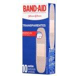 Curativos Transparentes Band-Aid Curativos Transparentes Band-Aid