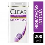 Shampoo Anticaspa Clear Women Hidratação Intensa