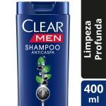 Shampoo Clear Men Anticaspa Limpeza Profunda