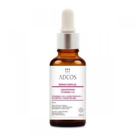 Derma Complex Adcos Concentrado Vitamina C 20 30ml   drogaraia.com.br foto 1