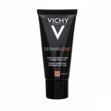 Base Fluída Facial Vichy Dermablend FPS35 Nº55