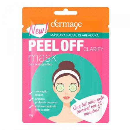 Máscara Facial Clareadora Dermage Peel Off Clarify com 10g