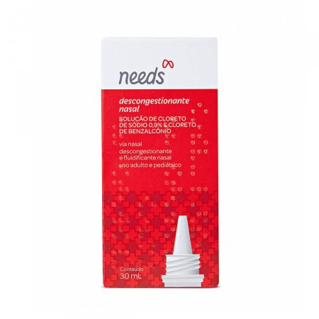 Descongestionante Nasal Needs Gotas 30ml |