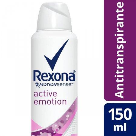 Desodorante Aerosol Antitranspirante Rexona Active Emotion