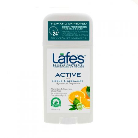 Desodorante Vegano Lafe's Active Stick com 63g