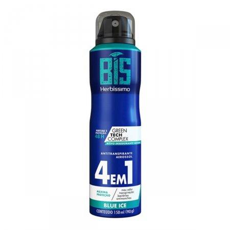 Desodorante Aerosol Bis Herbíssimo Blue Ice