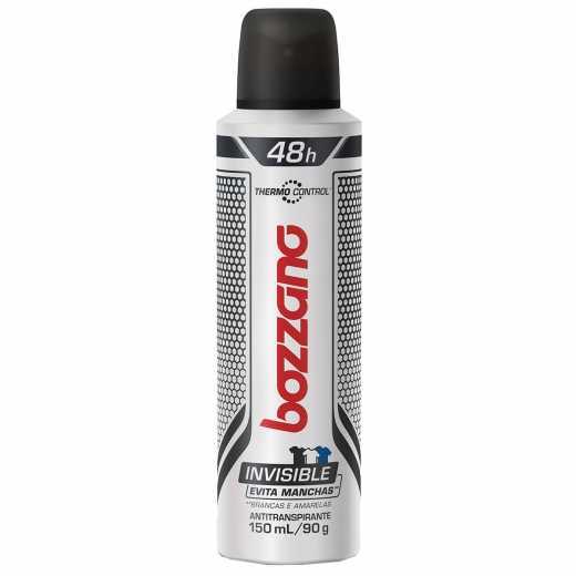 fdd293f884 Desodorante Aerossol Bozzano Thermo Control Invisible 150ml | Droga Raia