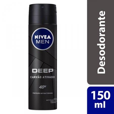 Desodorante Aerosol Nivea Men Deep Original