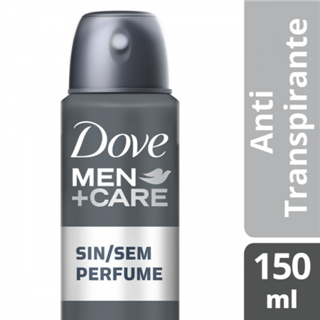 Desodorante Antitranspirante Aerosol Dove Men+Care Sem Perfume