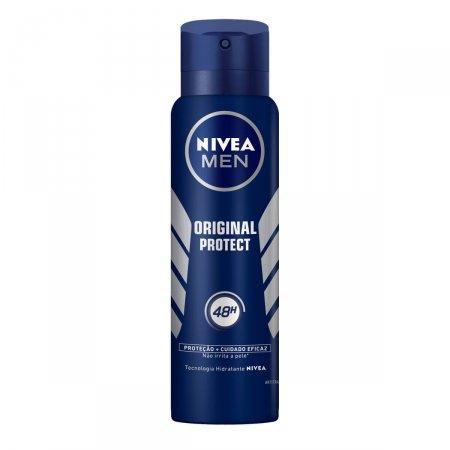 Desodorante Antitranspirante Aerosol Nivea Men Original Protect