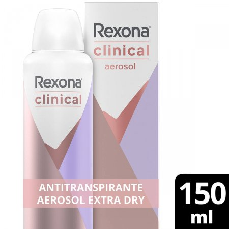 Desodorante Antitranspirante Rexona Feminino Clinical Extra Dry