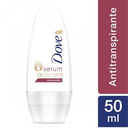 Desodorante Roll-On Dove Sérum Aclarant Renovador
