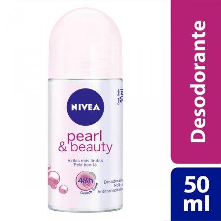 Desodorante Antitranspirante Roll On Nivea Pearl & Beauty
