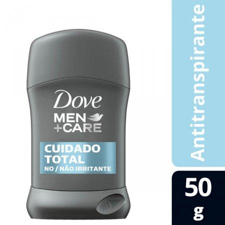 Antitranspirante em Barra Dove Men Cuidado Total 48h 50g  