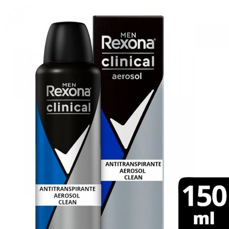 Desodorante Antitranspirante Rexona Men Clinical Clean
