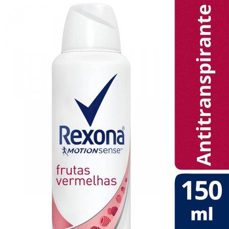 Desodorante Rexona Suave Frutas Vermelhas