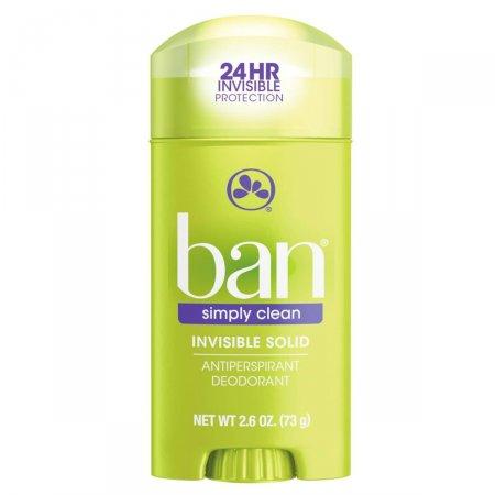 Desodorante Sólido Ban On Simply Clean