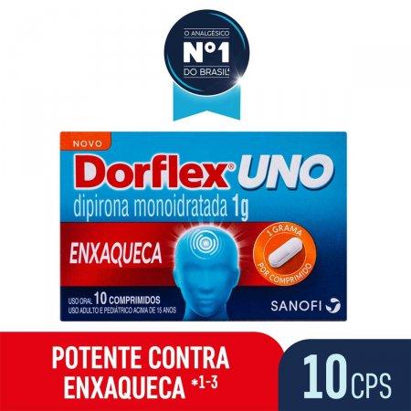 Dorflex Uno Enxaqueca 1g com 10 comprimidos
