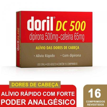 Doril DC 500 com 16 Comprimidos Foto 2