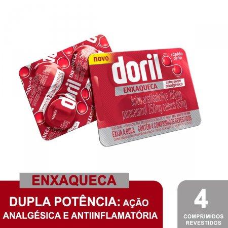 Doril Enxaqueca com 4 Comprimidos Foto 2