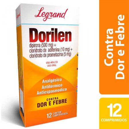 Dorilen com 12 comprimidos