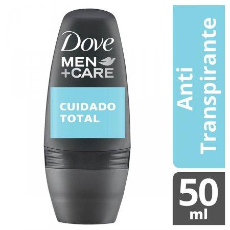 Desodorante Antitranspirante Roll-On Dove Men+Care Cuidado Total