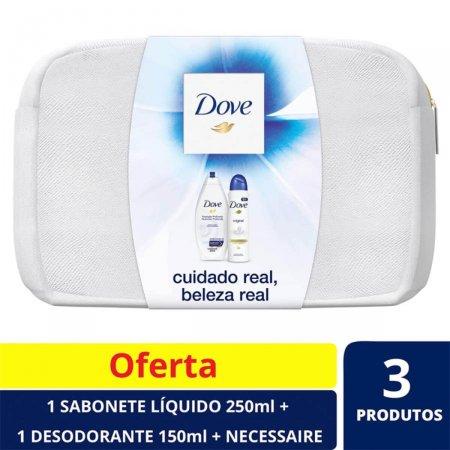 Kit Dove Sabonete Líquido Nutrição Profunda + Desodorante Dove Original