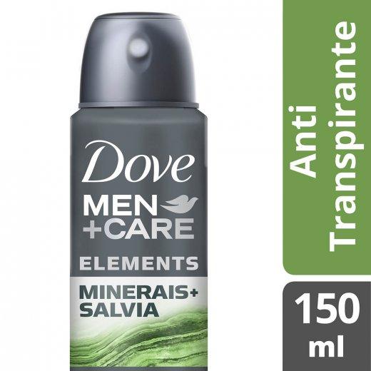 55cd14dcf Desodorante Dove Men + Care Aerossol Minerales + Sálvia 150ml ...