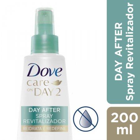Spray para Cabelo Revitalizador Dove Day After para Hidratar e Redefinir com 200ml