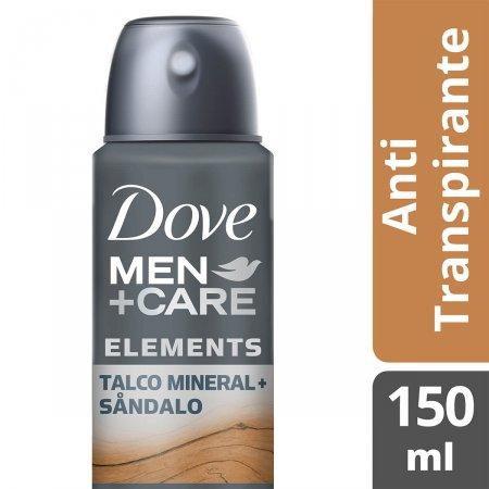 Desodorante Dove Men + Care Talco Mineral e Sândalo