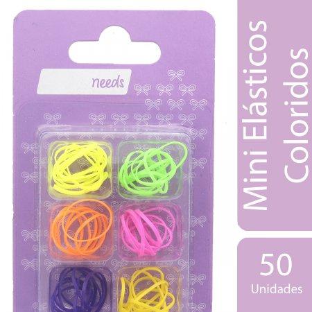 Mini Elásticos Coloridos Needs