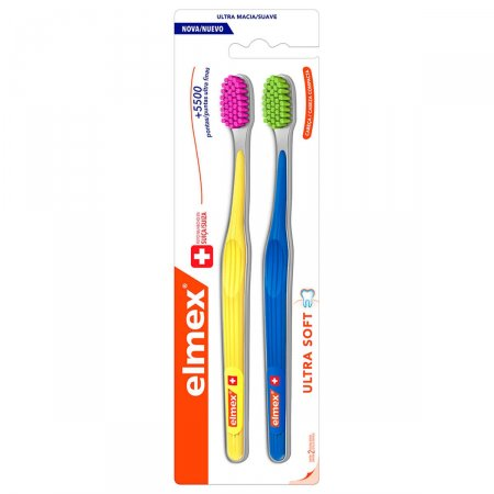 Escova Dental Elmex Ultra Soft