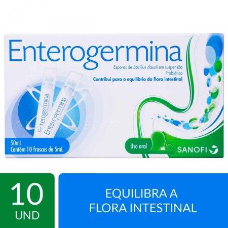 Probiótico Enterogermina com 10 frascos de 5ml