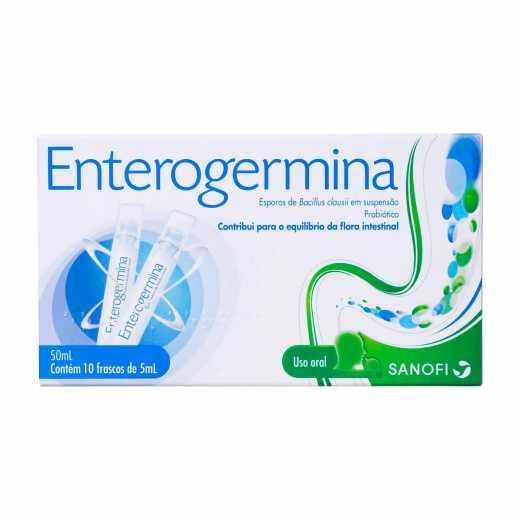 Probiótico Enterogermina Com 10 Frascos De 5ml Droga Raia