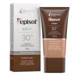 Protetor Solar Facial Episol Color Pele Morena Mais FPS30 40g