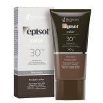 Protetor Solar Facial Episol Color Pele Negra FPS30 40g