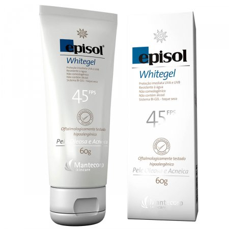 Protetor Solar Whitegel FPS 45
