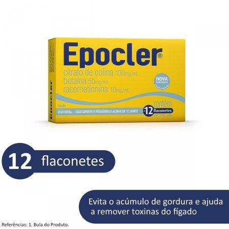 Epocler Sabor Abacaxi com 12 Flaconetes |
