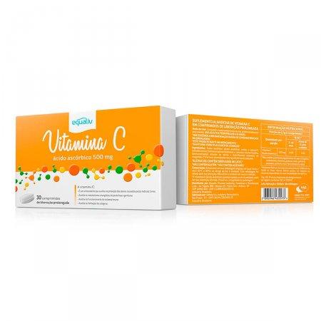 Equaliv Vitamina C 500mg com 30 comprimidos