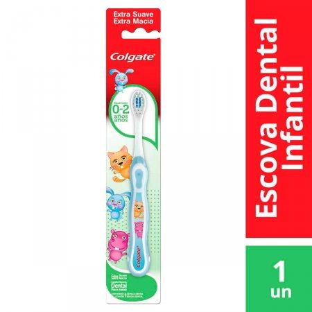 Escova Dental Colgate My First sem Flúor