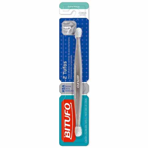 96368aa5e Escova Dental Bitufo 2 Tufos 1 Unidade