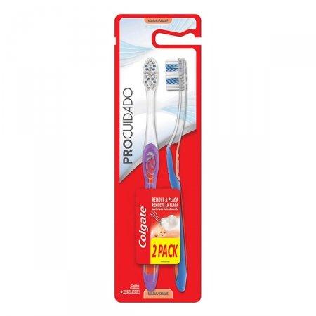 Escova de Dente Colgate Pro Cuidado com 2 Unidades