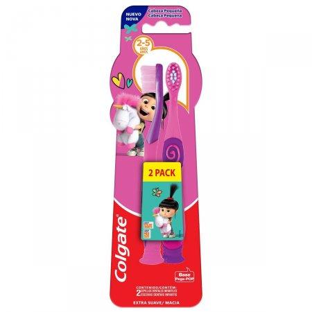 Escova Dental Colgate Smiles Agnes e Fluffy 2 a 5 Anos 2 Unidades |